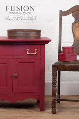Cranberry | Fusion™ Mineral Paint (Tester and Pint Size) - Homeworks Etc ®
