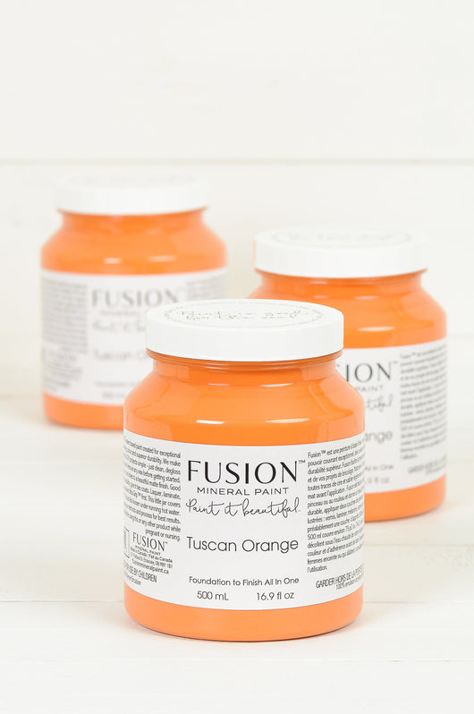 Fusion™ Mineral Paint | Tuscan Orange - Homeworks Etc ®