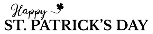 Happy St Patrick's Day Stencil - Homeworks Etc ®
