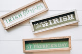 Eat Drink and Be Irish Stencil - Homeworks Etc ®