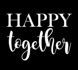 Happy Together Stencil Decal - Homeworks Etc ®