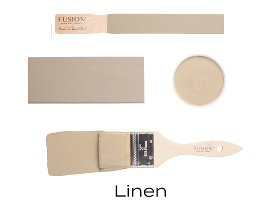 Linen | Fusion™ Mineral Paint (Tester and Pint Size) - Homeworks Etc ®