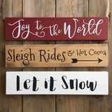 Let it Snow Stencil - Homeworks Etc ®