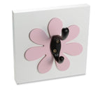 Light Pink Flower Wall Hook, nursery, kids wall hook