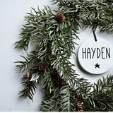Christmas Ornaments Personalized - Homeworks Etc ®