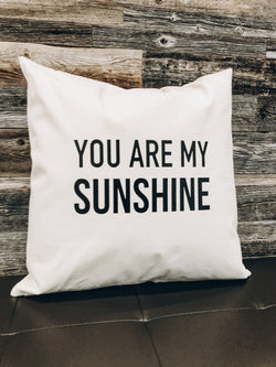 You are my Sunshine | Pillow throw cushion - Homeworks Etc ®