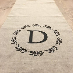 Personalized Linen Table Runner | Drop In - Homeworks Etc ®