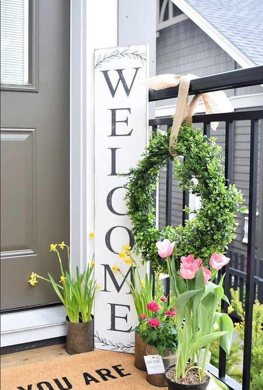 DIY Workshop Outdoor Welcome Sign | DROP IN - Homeworks Etc ®