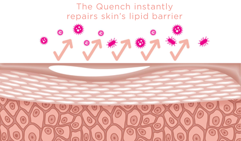 The Quench Skin Recovery Cream Repairs Skin Lipid Barrier