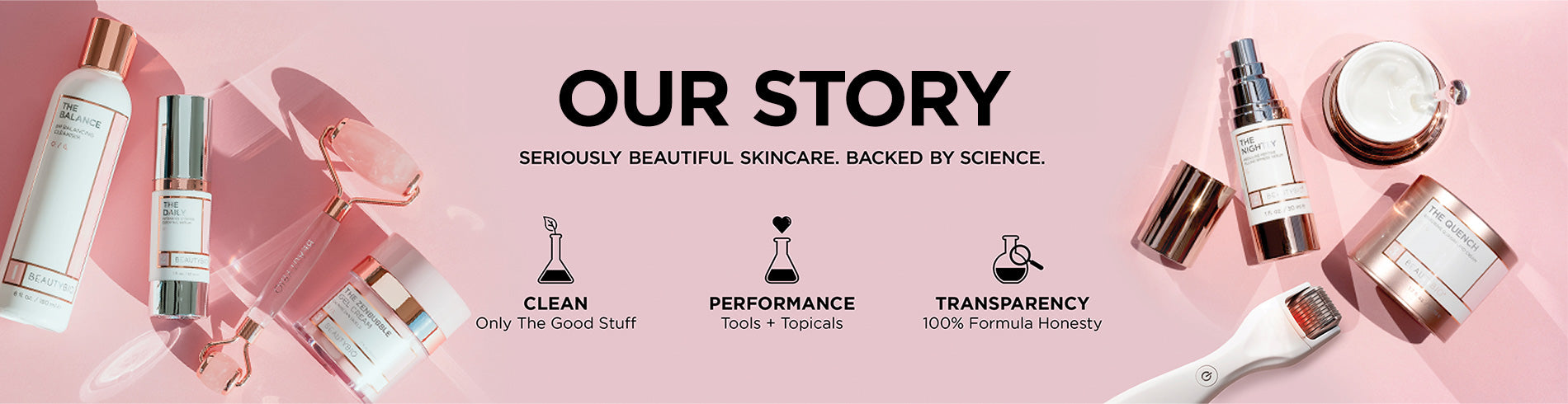 Our Story - Seriously Beautiful Skincare. Backed By Science.