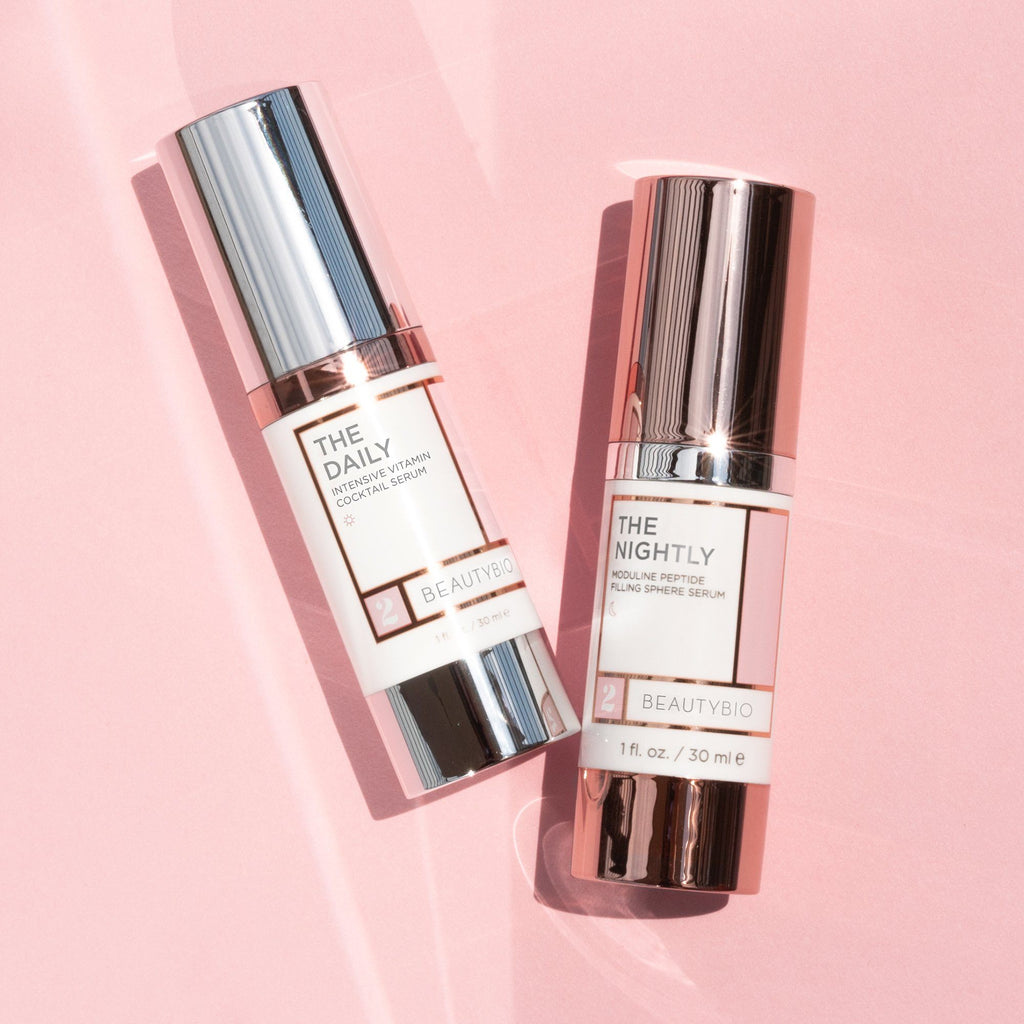 AM + PM Serum Bundle Skincare BeautyBio