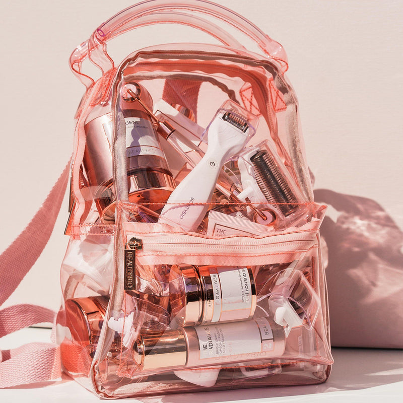 "Limited Edition ""Lana"" Blush Backpack BeautyBio"