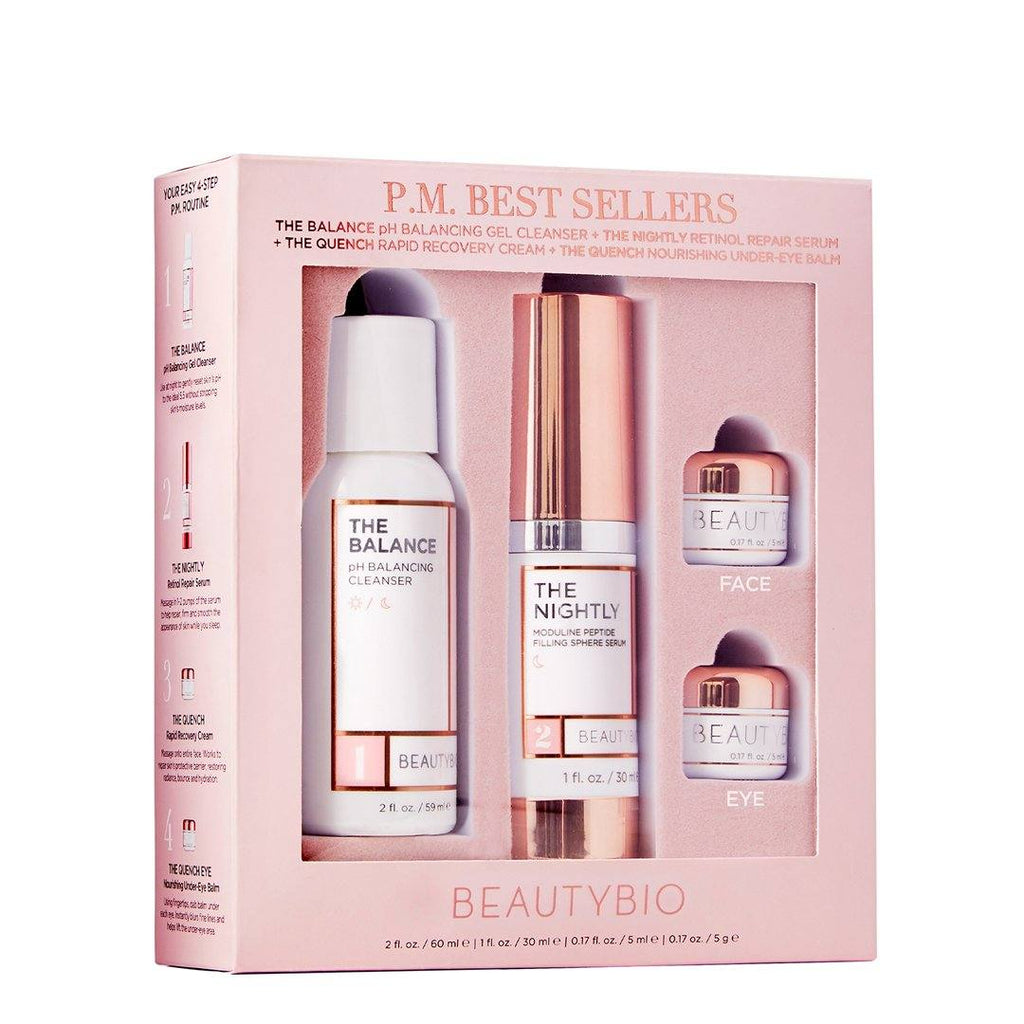 PM Nightly Routine Set Sets BeautyBio