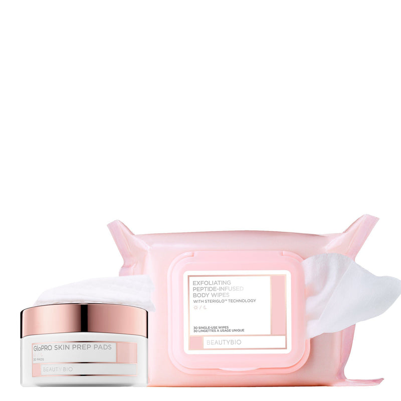 Face + Body Wipes Bundle Skincare BeautyBio