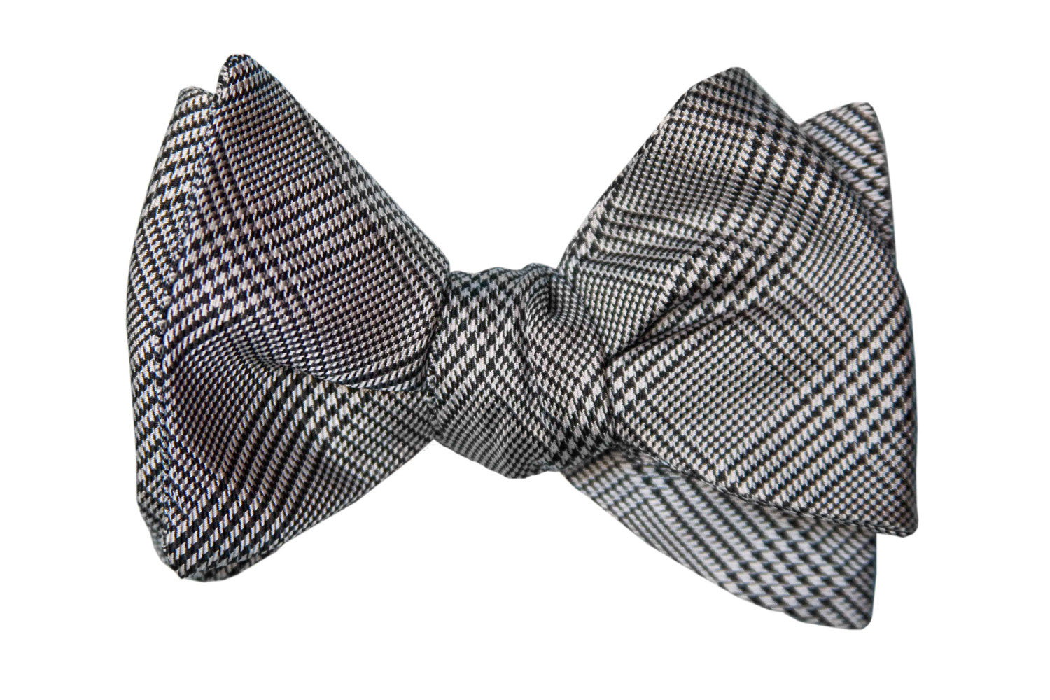 Black/White Glen Plaid