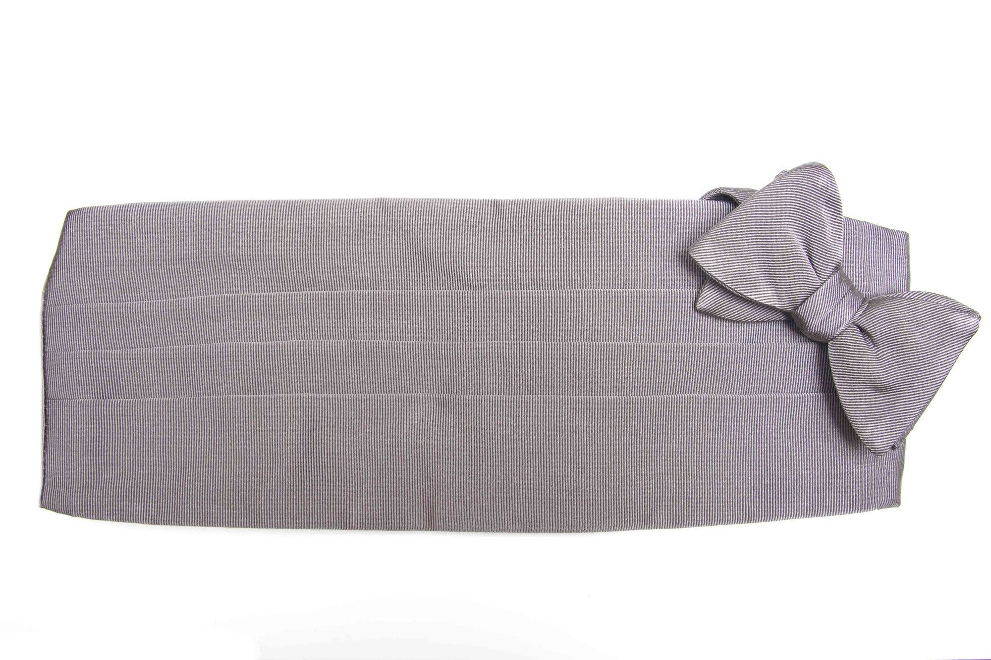 Grey Solid Grosgrain