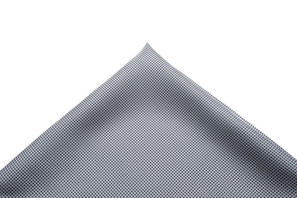 Pocket Square Grey Border