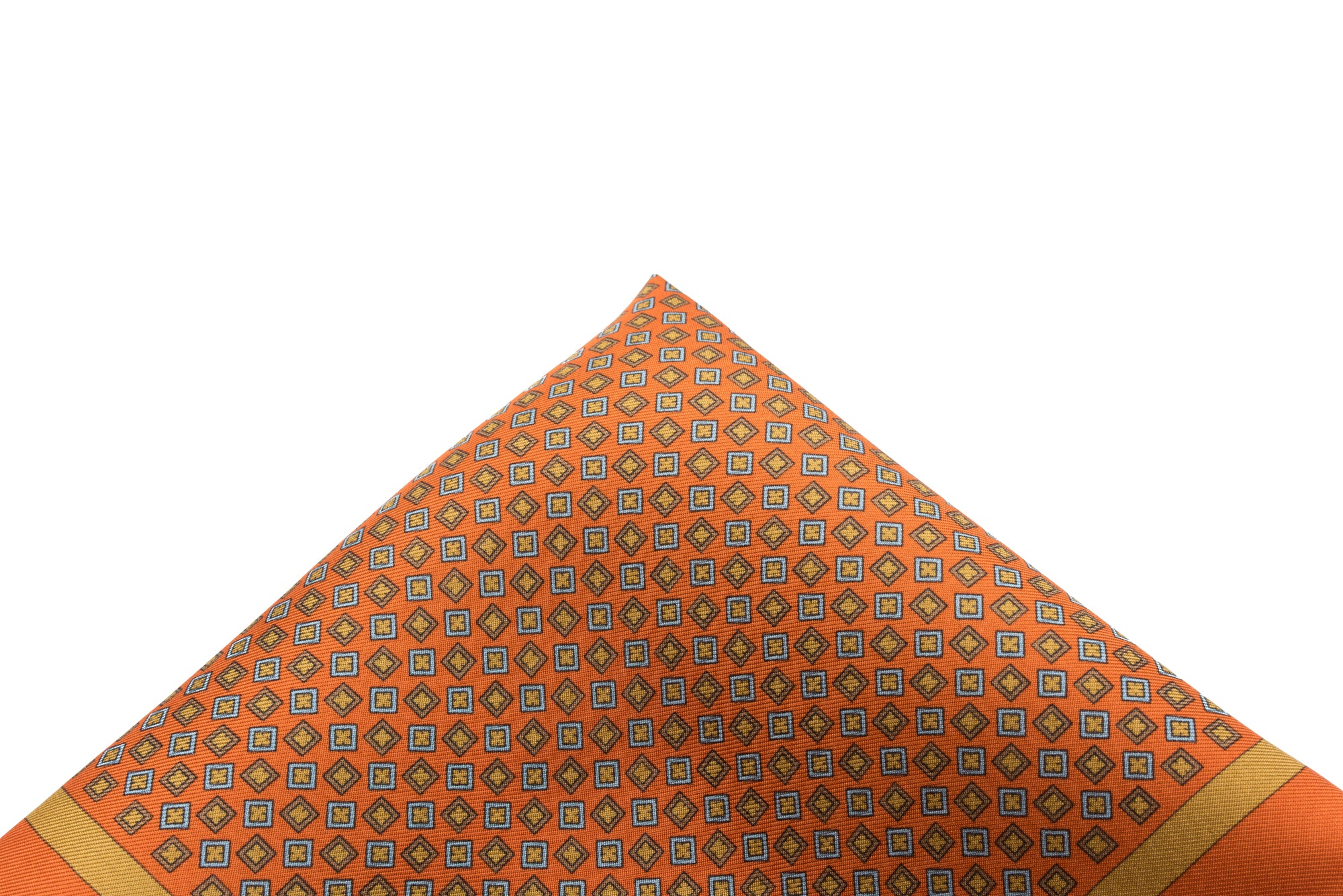 Pocket Square Orange - Neat
