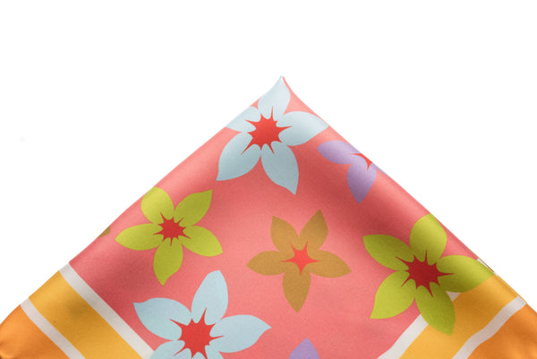 Pocket Square Fun and Floral
