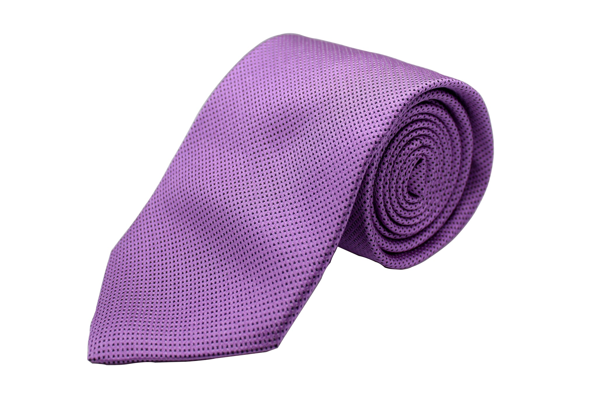 Purple with Black Squares Neck Tie