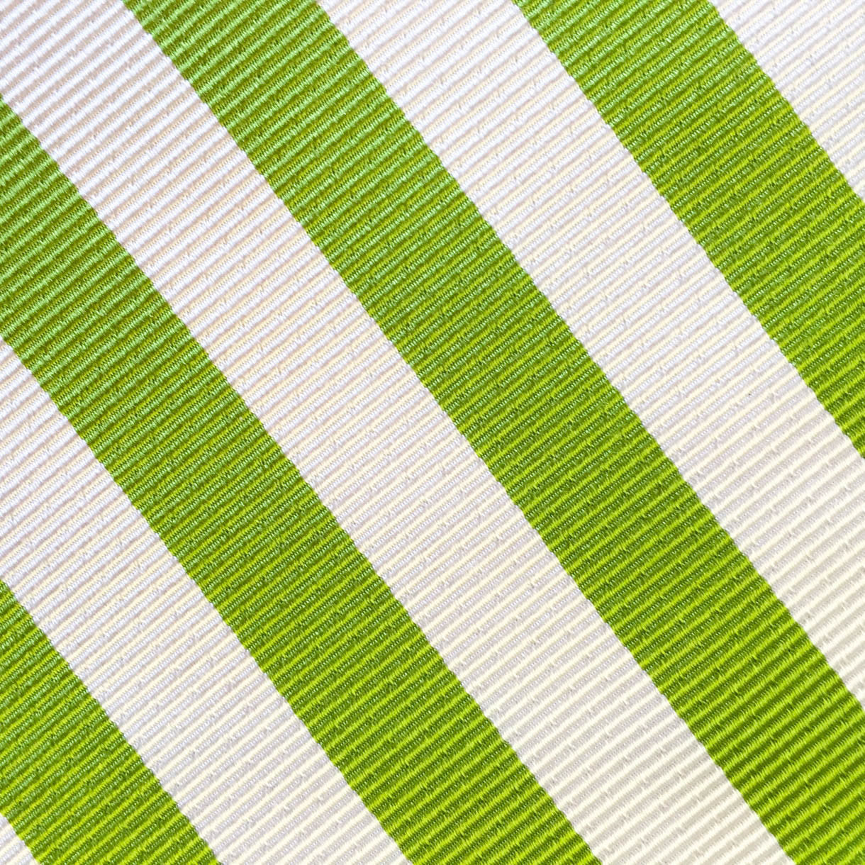 Summer Stripe Lime Green