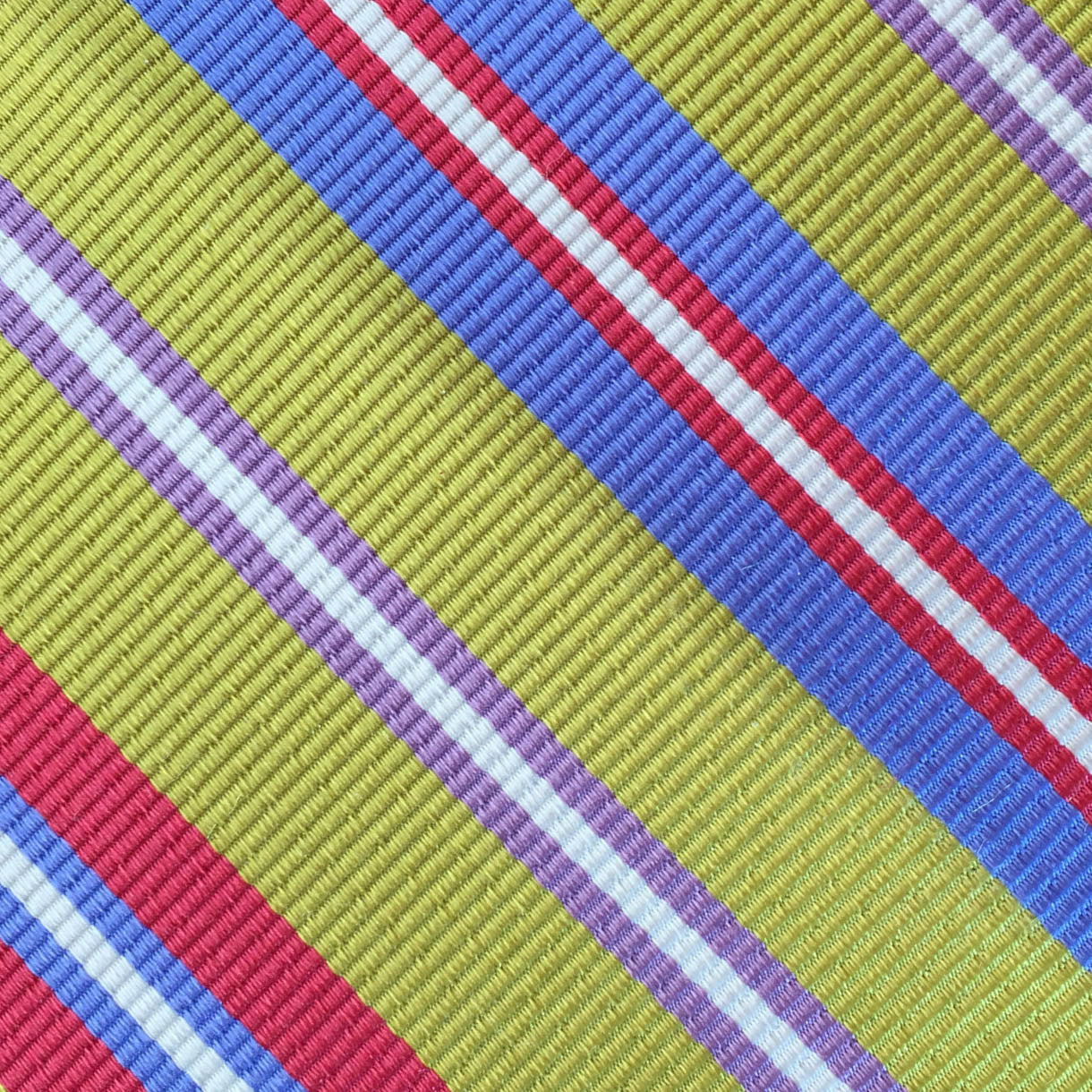Multi Colored Stripe Lime