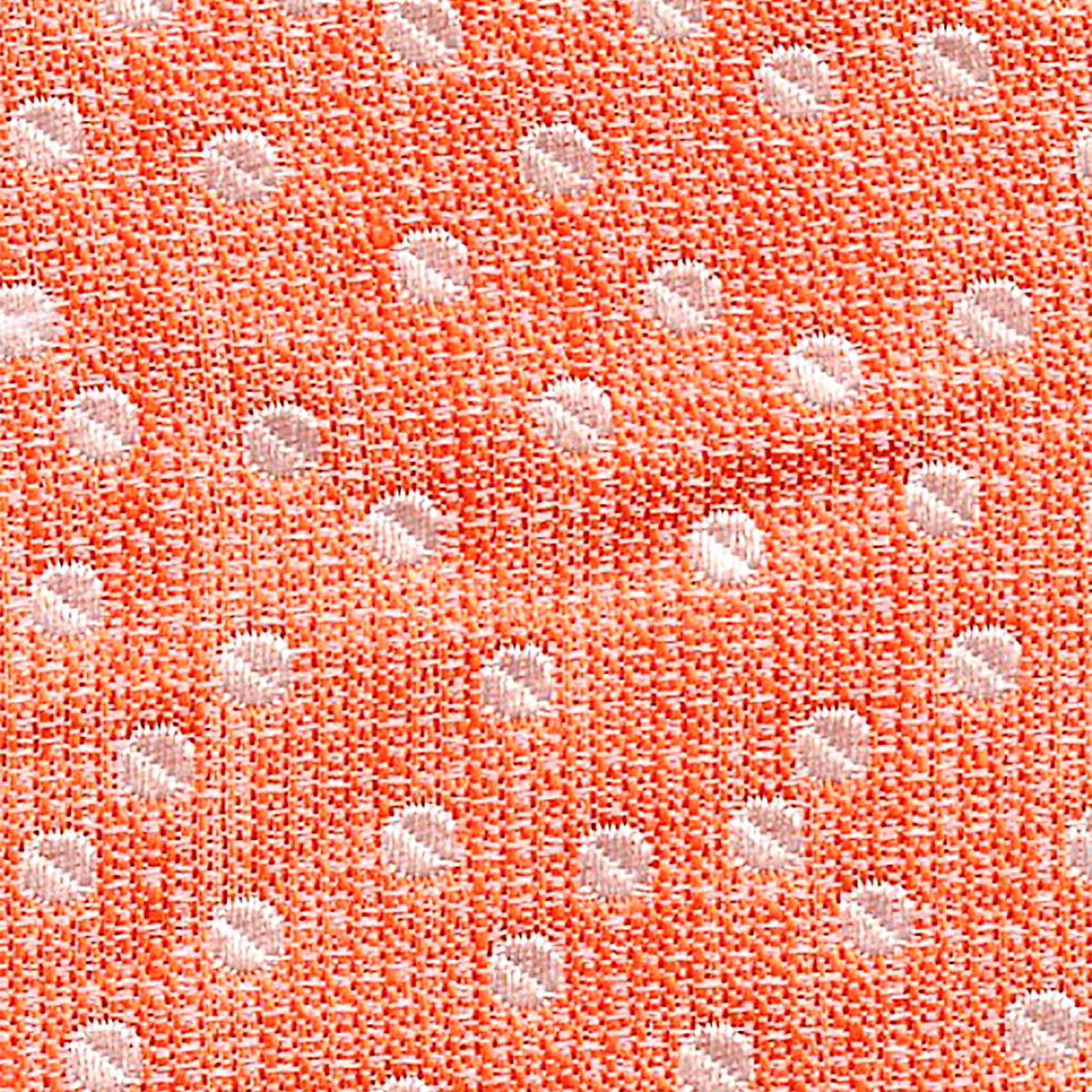 Polka Dot Orange/Silver