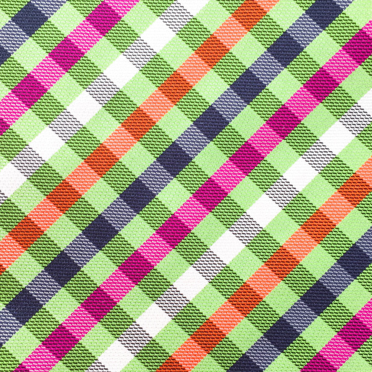 Checkered Green/Purple/Pink