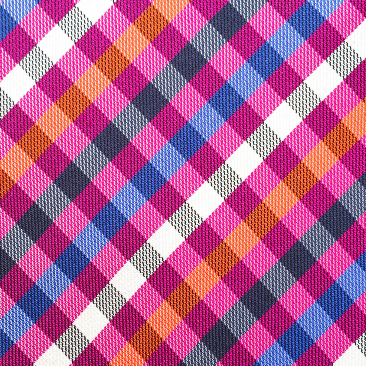 Checkered Pink/Black/White