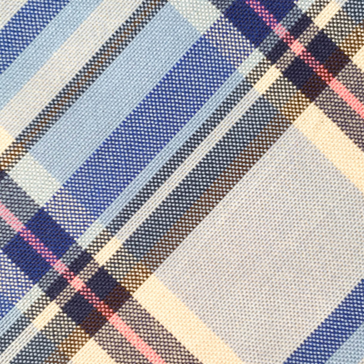 Plaid Blue/Gray