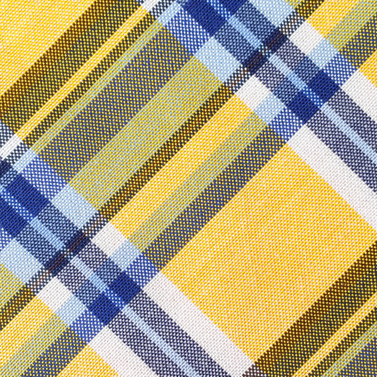 Plaid Yellow/Navy
