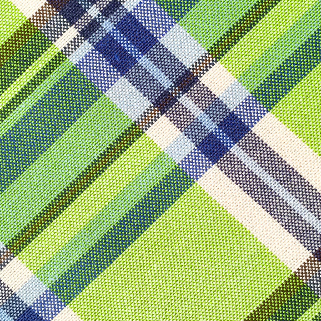 Plaid Green/Blue