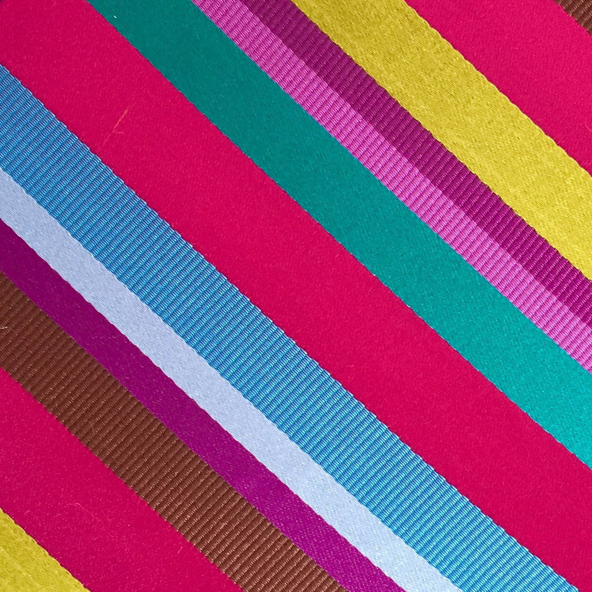 Bright Stripes Pink/Blue/Teal