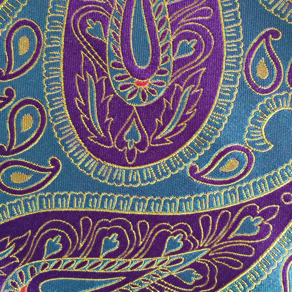Paisley Blue/Purple