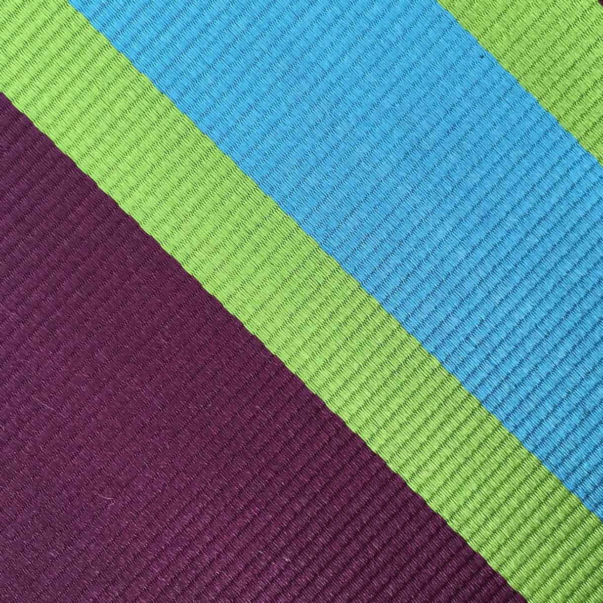 Purple/Green/Blue Stripe