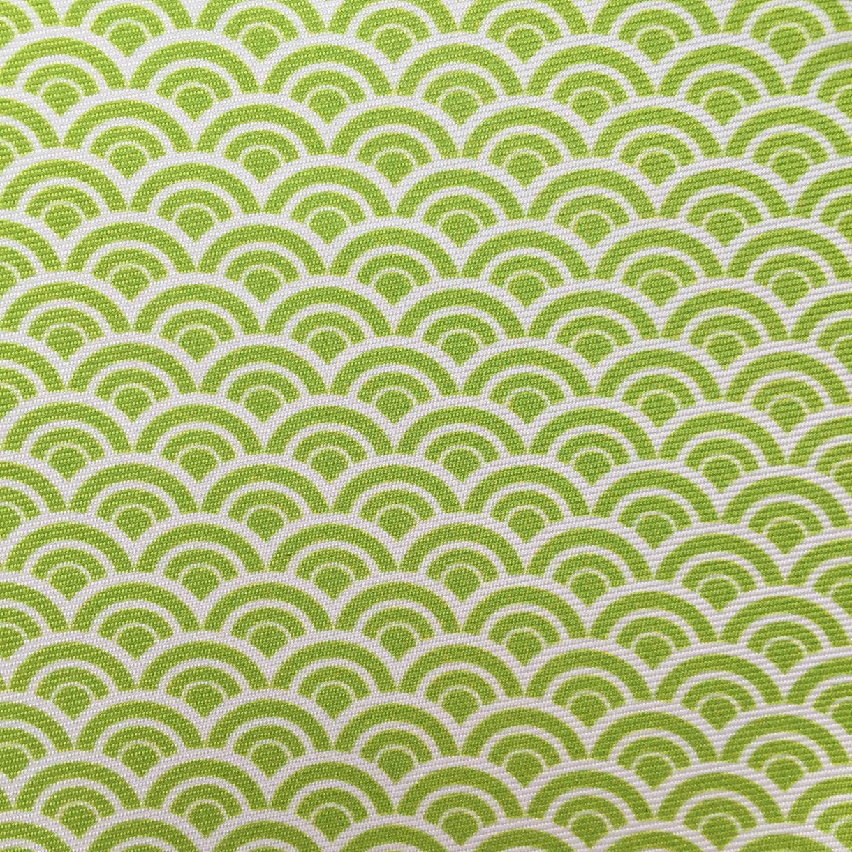 Repeating Half Circle Lime