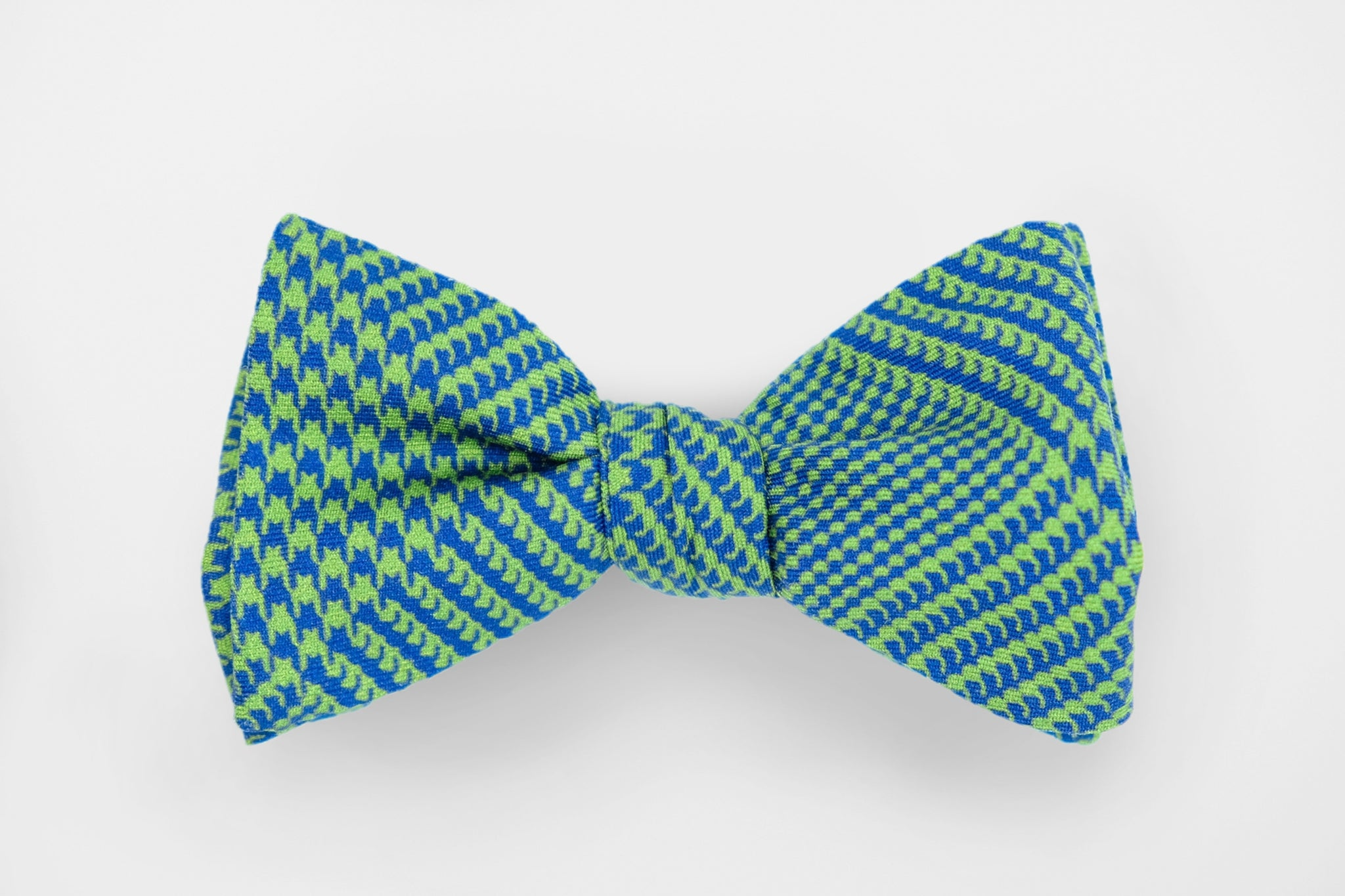 Lime Green/Blue Glen Plaid