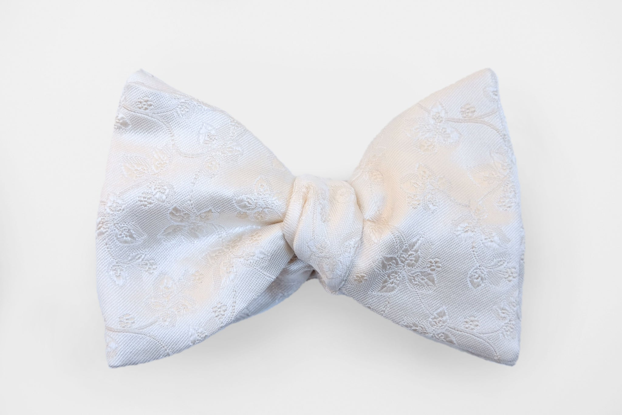 Off-White Tonal Vine Bow Tie
