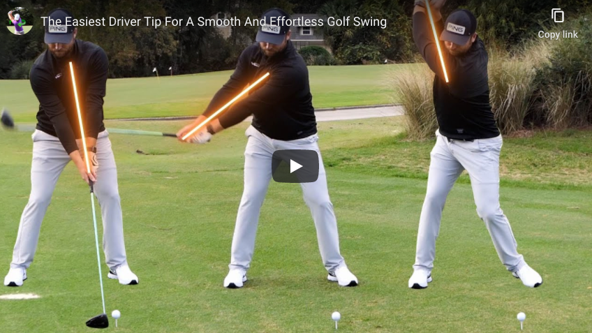 Smooth Driver Swings with Clay Ballard