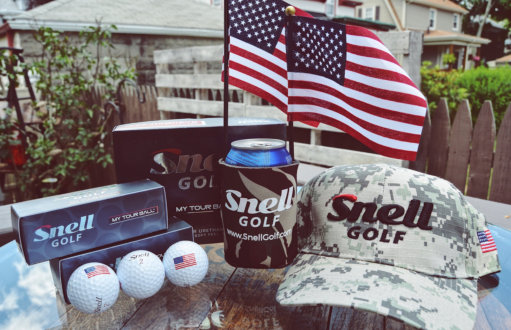 Limited Edition American Flag balls available now! - Snell Golf afd60989a1ba