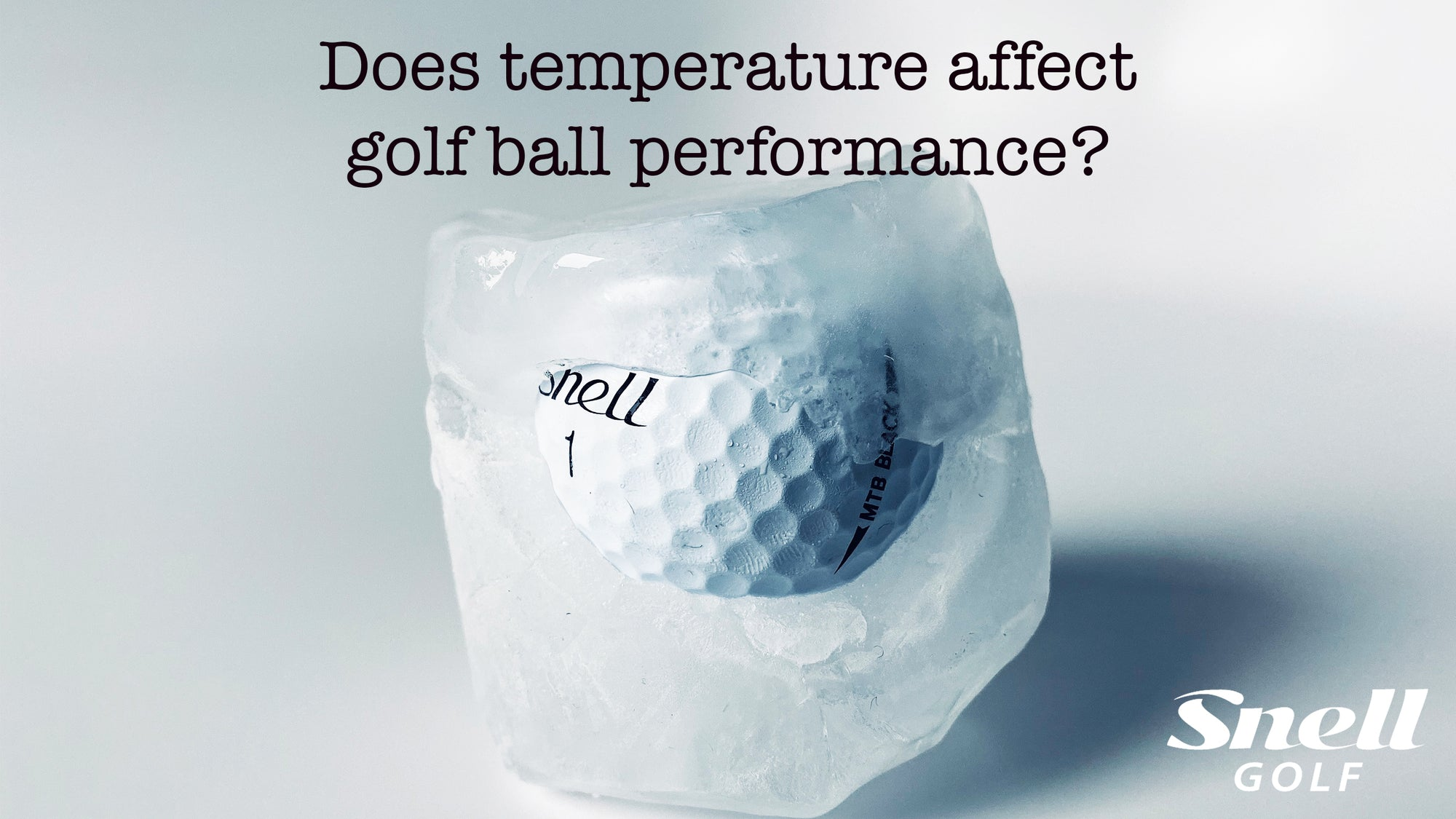Does temperature affect golf ball performance?
