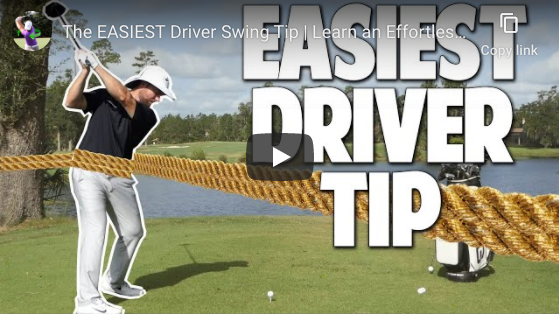 Simple DRIVER Tips from Clay Ballard