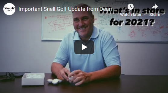 New Year: Snell Golf 2021 Update