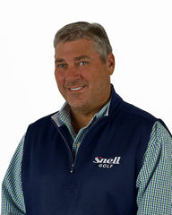 Dean Snell in Snell Golf vest