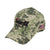 Camo Hat with American Flag