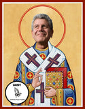 Anthony Bourdain Saint Celebrity Prayer Candles