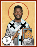 Antonio Brown Oakland Raiders Saint Celebrity Prayer Candles