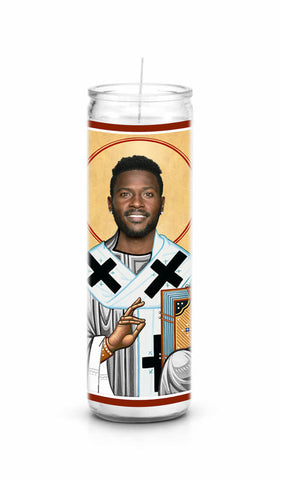 Antonio Brown Oakland Raiders Saint Celebrity Prayer Candle
