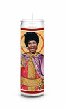 aretha franklin saint celebrity prayer candle