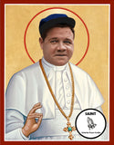Babe Ruth Yankees Saint Celebrity Prayer Candles